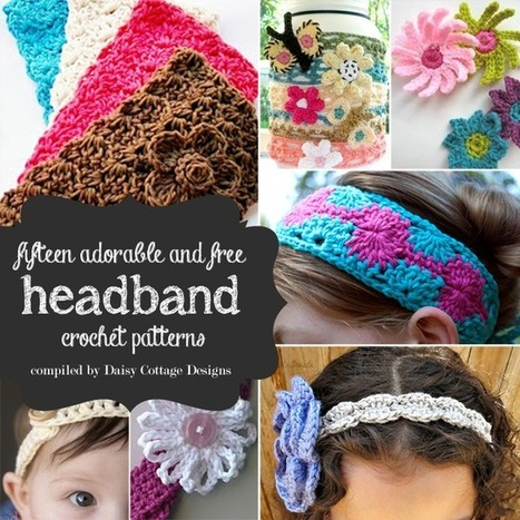 15 Free Headband Crochet Patterns | Crocheting for my family | Scoop.it