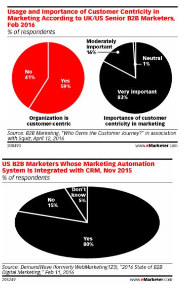 B2B Executives Focus on the Customer in Marketing Technology Spend - eMarketer | The Marketing Technology Alert | Scoop.it