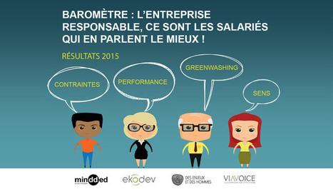 Baromètre RSE : les salariés optent pour l'entreprise responsable | ISR, DD et Responsabilité Sociétale des Entreprises | Scoop.it