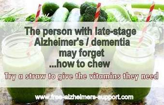 How to Help the person with End Stage Alzheimer's dementia to Eat - Alzheimers Support | Alzheimer's Support | Scoop.it