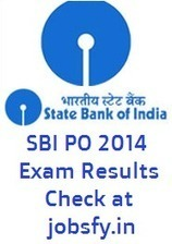 SBI PO Phase I Written Exam 2014 Results Declared, Check Online « jobsfy | Latest Job Alerts | Scoop.it