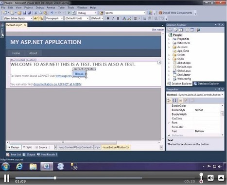 Videos: The Official Microsoft ASP.NET Site | Free Tutorials in EN, FR, DE | Scoop.it
