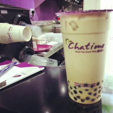 Refreshing Pearl Milk Tea in Chatime Karama | findmeabreak | Scoop.it