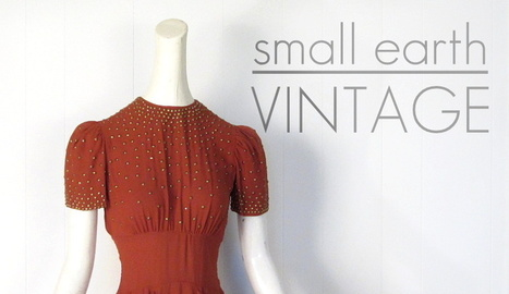 small earth vintage: shoes--shiny, sparkling, spiked | Vintage Fashionista | Scoop.it