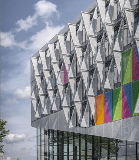 India Art n Design Global Hop : Candid-Dynamic-Green: Campus Kolding - Aluminium Awardee 2015 | India Art n Design - Design | Scoop.it