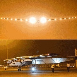Solar-powered aircraft Solar Impulse 2 lands in Varanasi - The Economic Times | US History | Scoop.it
