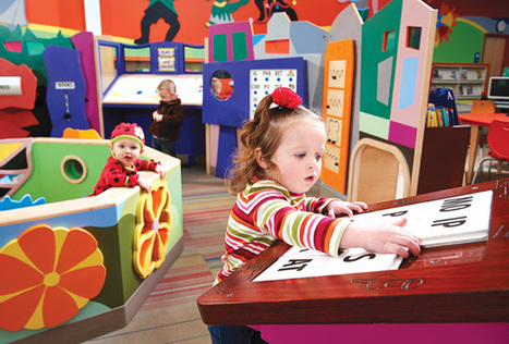 Design to Learn By: Dynamic Early Learning Spaces in Public Libraries | School Library Journal | Envisioning a preferred future for school libraries | Scoop.it