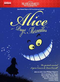 Alice au pays des merveilles : un spectacle enchanteur au théâtre des Variétés (Paris 2) | Alice au pays des merveilles | Scoop.it