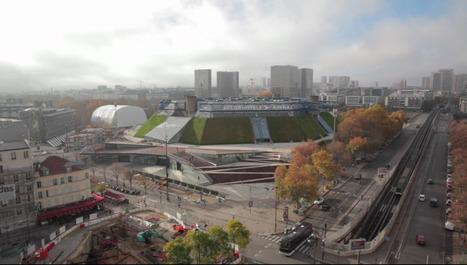 Visite guidée de l'Accorhotels Arena, un Bercy plus grand et plus ouvert | DVVD Architectes Ingénieurs Designers | Scoop.it