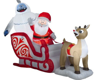 2013 Christmas Inflatables-Outdoor Christmas Lighted Lawn Sets-Mickey and Snoopy Outdoor Christmas Inflatables | standardconcession | Scoop.it
