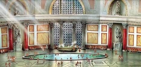 Las antihigiénicas termas romanas | Rebollarte | Scoop.it