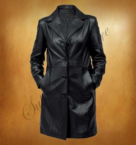 In variety of trench coat an extraordinary style is Kosher Black Women Coat | WOMEN JACKETS | Scoop.it