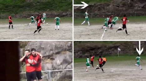¡Colosal gol maradoniano en la Segunda Regional gallega! - Marca.com | @Futbol Baseymas | Scoop.it