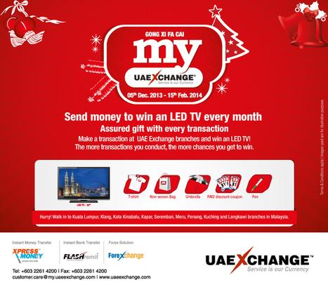 UAE Exchange launches MY UAE Exchange promotion | UAE Exchange | Scoop.it