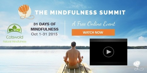 Join The Mindfulness Summit for FREE | The MINDsight Coach | Scoop.it