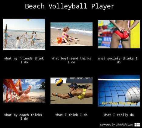 Beach Volleyball Player | What I really do | Scoop.it