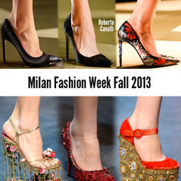Milan Fashion Week Shoes Fall 2013 | MFW | Scoop.it