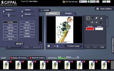 GIFPAL, excelente utilidad web gratuita para crear gif animados | EVA | Scoop.it