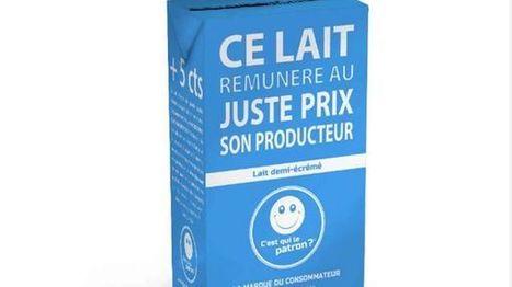 La brique de lait qui donne le pouvoir au consommateur arrive en grande surface   Veille positive de l'actualité durable et de la nouvelle consommation   Scoop.it