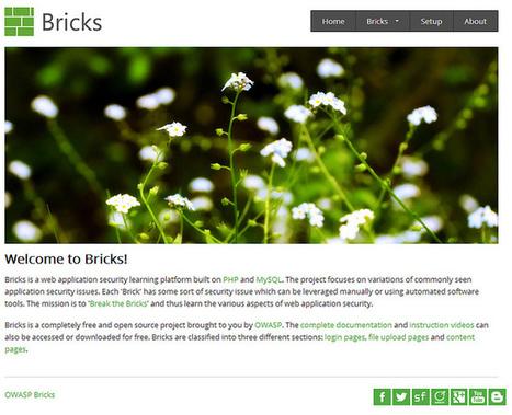 OWASP Bricks: OWASP Bricks - 1.8 Atrai release   OWASP Bricks   Scoop.it