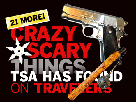 21 more crazy and scary things the TSA has found on travelers | NIC: Network, Information, and Computer | Scoop.it