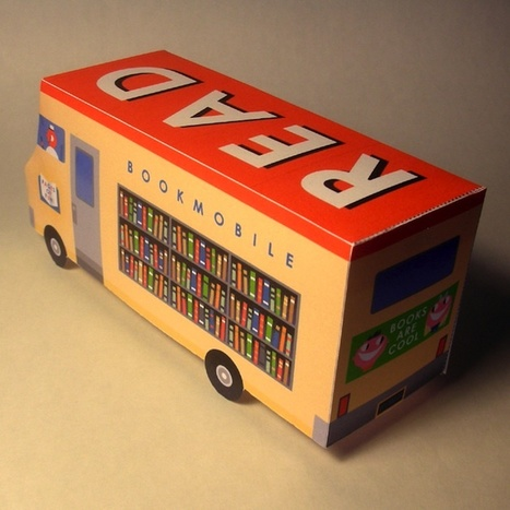 Papercraft Bookmobile | Art 2.0 | Scoop.it