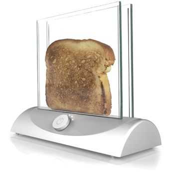 Transparent Toaster gives you clear view of bread's crispiness | A Drunk Designer | Scoop.it