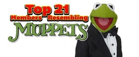 Cloture Club – Top 21 Members Resembling Muppets | Shiny Objects | Scoop.it