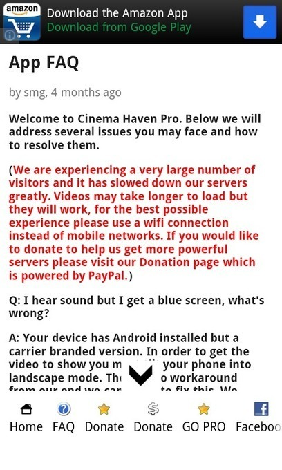 Cinema Haven (lite) - Android Apps on Google Play | Best android apps on the market | Scoop.it