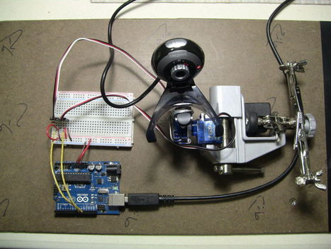 Face detection and tracking with Arduino and OpenCV   Arduino in the Classroom   Scoop.it