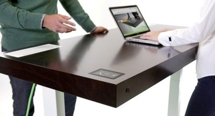 This WiFi-enabled smart desk will cost you $3,890. And you can buy one today. | Digital Sailing | Scoop.it