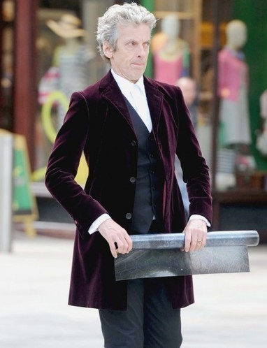 Peter Capaldi Burgundy Velvet Blazer | Special Celebrity Costume Deals | Scoop.it