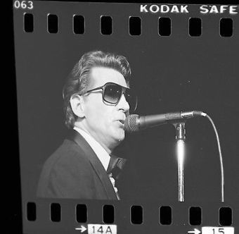 JERRY LEE LEWIS 35mm Camera Original Negative IN CONCERT 1983 ONE-OF-A-KIND #007 @Jerry_Lee_Lewis | Keith Russell Collections | Scoop.it