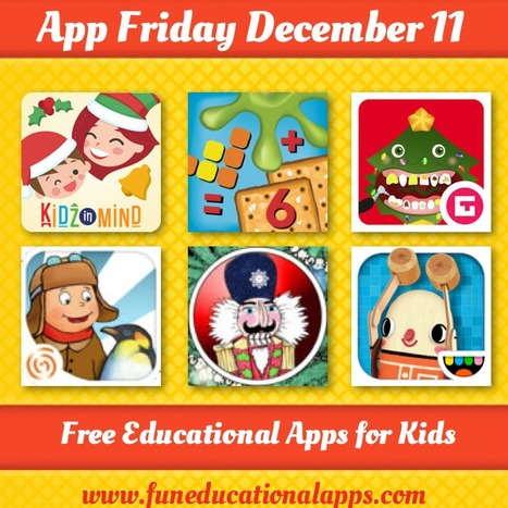Friday Free Apps for kids and Education - December 11 - Fun Educational Apps for Kids | Best Apps for Kids | Scoop.it