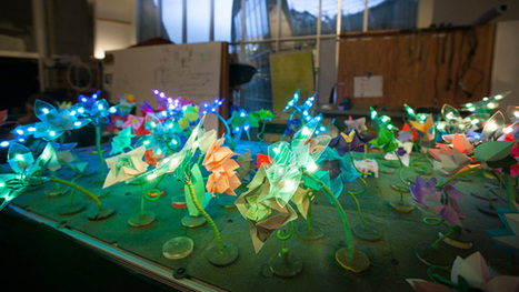 MIT's light-up robot garden teaches you how to code | Tech innovation | Scoop.it