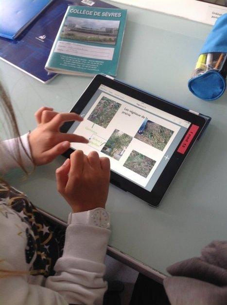 Livre numérique en 6ème - [Collège de Sèvres] | Tablettes numériques | Scoop.it
