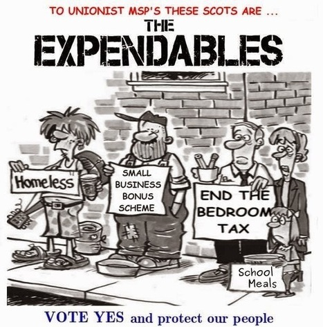 Sign for Scotland: The three poverties of Westminster | Referendum 2014 | Scoop.it