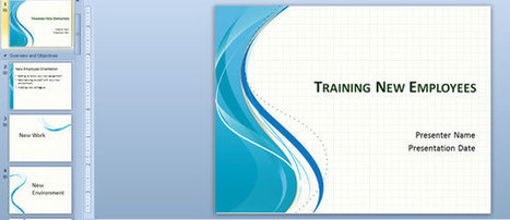 Training New Employees PowerPoint Template | STUDENT TRAINING | Scoop.it