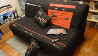 Take a nap on the Sega Master… Sofa? | All Geeks | Scoop.it