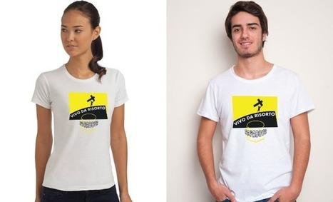 Esce 'Vivo da Risorto' la J shirt (Jesus Shirt) per la Santa Pasqua | #chicercate | Scoop.it