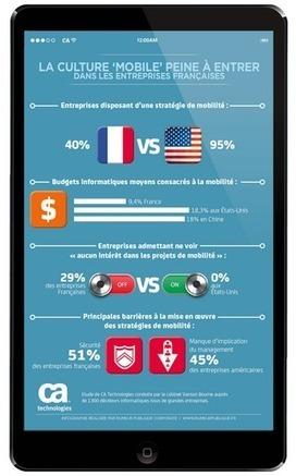 La culture 'mobile' peine à entrer dans les entreprises françaises   mobile   Scoop.it