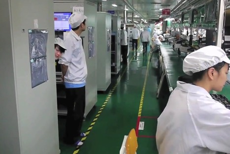 This Rare Video Shows How Your iPhone Gets Made | ZipMinis: Science of Blogging | Scoop.it