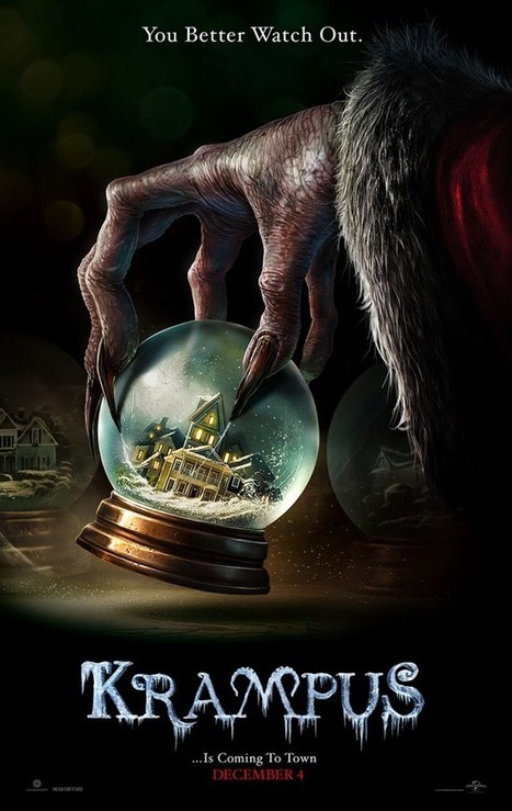 Movie Review: Krampus (2015) - Buried Under The Clutter Is A Watchable Movie. - Movie Smack Talk | Movies | Scoop.it