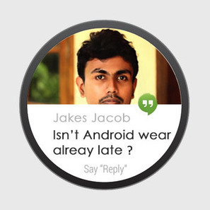 Google's Android Wear is an insanely late technology !!! | Wireless Mash | Scoop.it