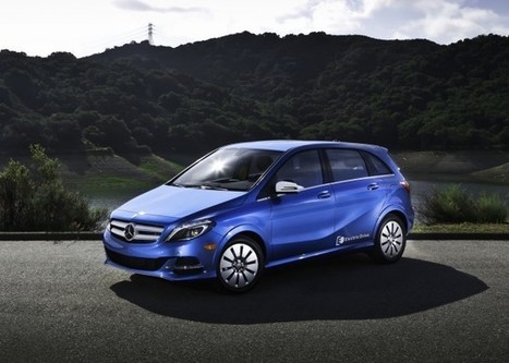 2014 Mercedes B-Class: Best Electric-Car Lease Deal Available? - Green Car Reports | Developing Innovation : Prototypes in Transport Systems | Scoop.it