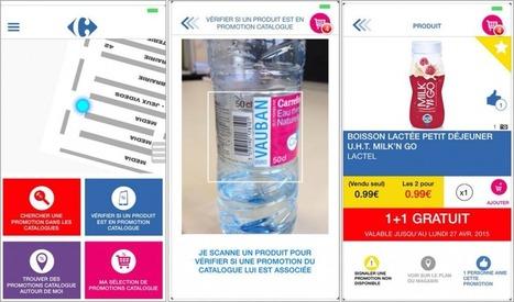 Carrefour se lance (aussi) dans la géolocalisation - We are commerce addicted | Expériences en cross-canal et utilisation du multicanal | Scoop.it