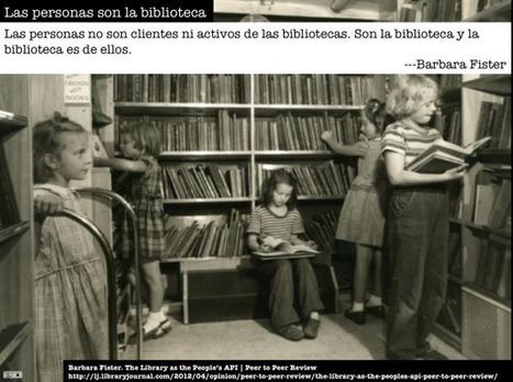 Las bibliotecas como espacios de aprendizaje abierto y conectado | APRENDIZAJE | Scoop.it
