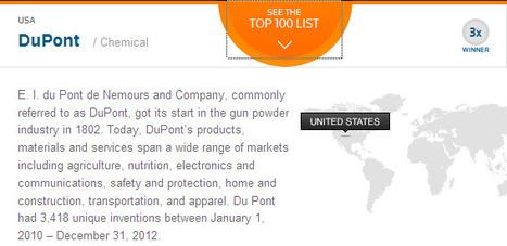 Top 100 Global Innovators   2013 Winners   DuPont ASEAN   Scoop.it