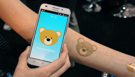 The company behind Moto's smart tattoo made an NFC baby thermometer   My. How Interesting.   Scoop.it