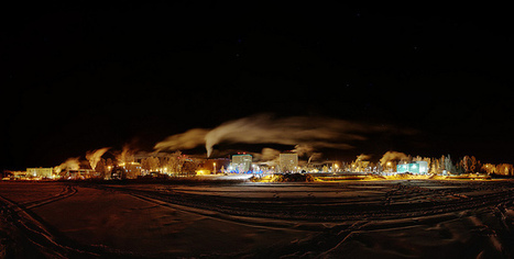 Downtown; -35°C on December 9, 2012 in Yellowknife, Northwest Territories, CA. | NWT News | Scoop.it